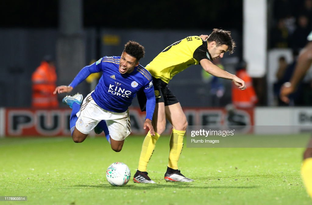 Burton Albion v Leicester City - Carabao Cup Round of 16 : News Photo