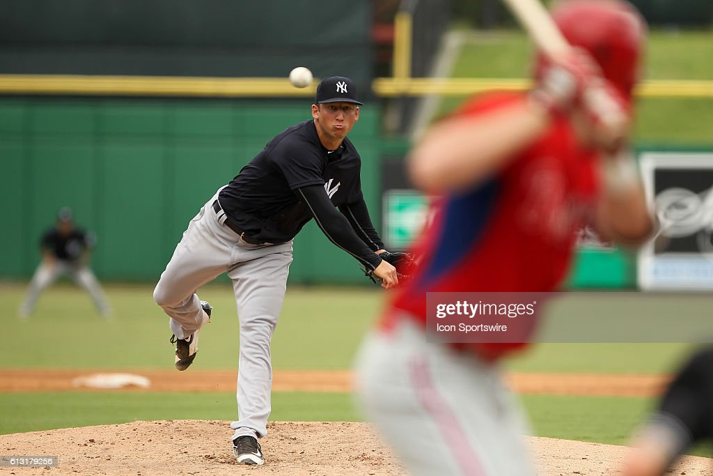 MiLB: OCT 06 Florida Instructional League -  FIL Yankees at FIL Phillies : News Photo
