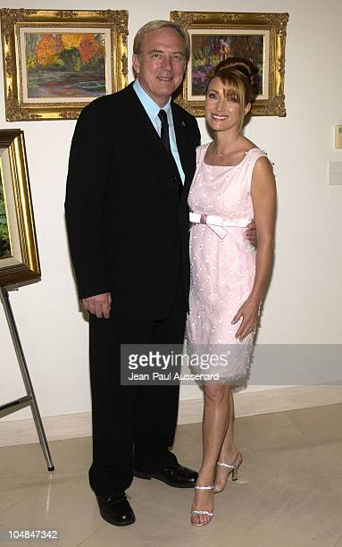 James Keach and Jane Seymour during Jane Seymour and James Keach Host City Hearts Eighth Annual Truffle Dinner at Private Residence in Malibu...