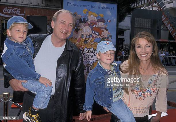 James Keach and Jane Seymour with their sons John Keach and Kristopher Keach