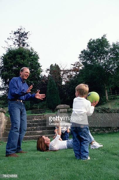 James Keach and Jane Seymour with twins Kristopher and John Jane Seymour Photo Shoot in Bath England Bath England