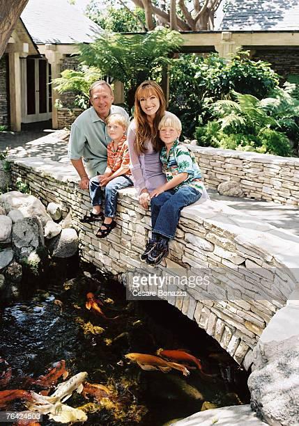 James Keach John Keach Jane Seymour Kristopher Keach Jane Seymour Photo Shoot Malibu Home Malibu California