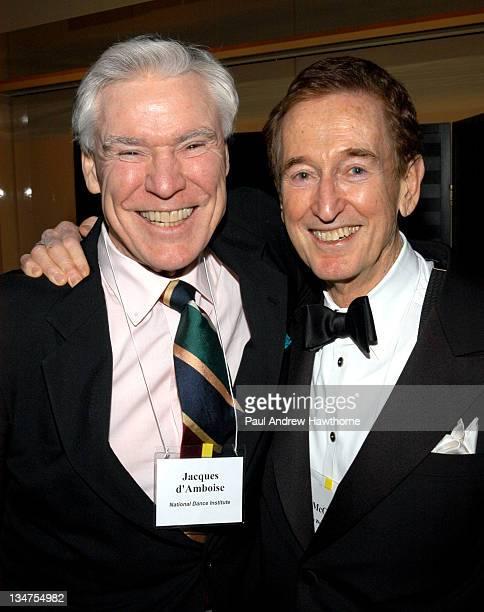 James Keller Award winner Jacques d'Amboise and Bob McGrath of Sesame Street