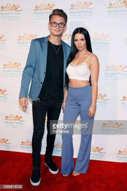 James Kennedy and Scheana Marie attend the Silent Pool Gin Launch Party at Tom Tom on September 18 2018 in West Hollywood California