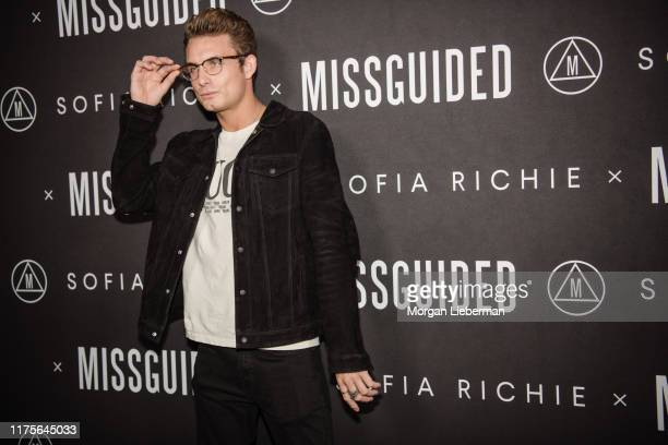 James Kennedy arrives at the Sofia Richie x Missguided launch party at Bootsy Bellows on September 18 2019 in West Hollywood California
