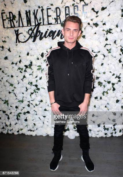 James Kennedy at Ariana Madix Frankie Rose Cosmetics holiday launch at COD Restaurant on November 7 2017 in Los Angeles California