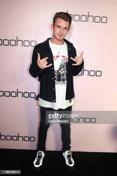 James Kennedy attends boohoo x All That Glitters Launch Party on November 07 2019 in Los Angeles California