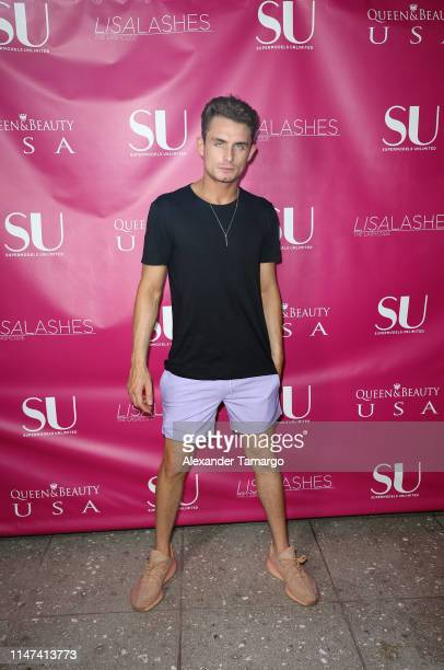 James Kennedy attends Supermodels Unlimited's Miami Fashion Show For Children on June 1 2019 in Miami Florida