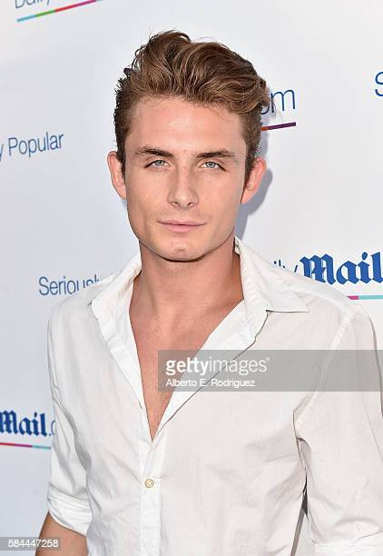 James Kennedy attends the Daily Mail Summer White Party with Lisa Vanderpump at Pump on July 27 2016 in Los Angeles California