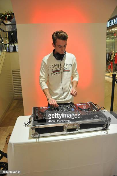 James Kennedy attends the House Of Sillage Holiday Boutique Launch event at House of Sillage on November 01 2018 in Costa Mesa California