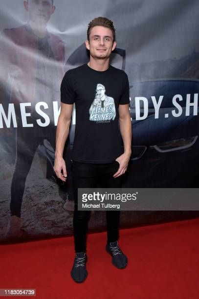 James Kennedy attends the Los Angeles launch party for JamesKennedyshop at SUR Lounge on October 23 2019 in Los Angeles California