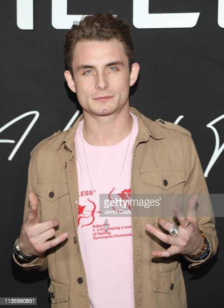 James Kennedy attends the Wheels LA Launch at Sunset Tower on March 14 2019 in Los Angeles California