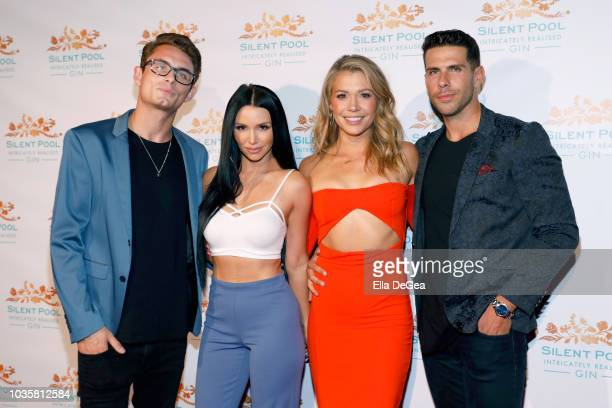 James Kennedy Scheana Marie Krystal Nielson and Chris Randone attend the Silent Pool Gin Launch Party at Tom Tom on September 18 2018 in West...