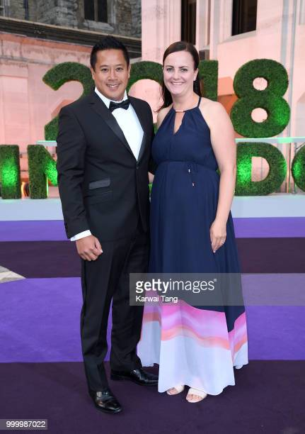 James Keothavong attends the Wimbledon Champions Dinner at The Guildhall on July 15, 2018 in London, England.