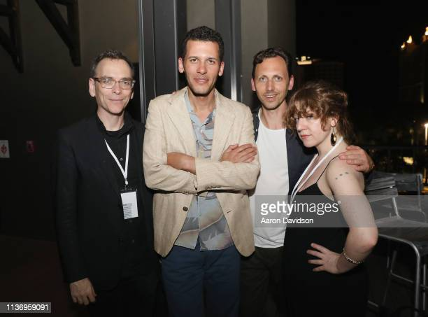James Kienitz Wilkins and guests are seen at the 2019 Sarasota Film Festival on April 12 2019 in Sarasota Florida