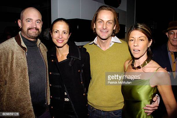 James Killough Amy Peck Andrew Brunger and Sally Randall Brunger attend KolDesign/BoConcept 5th Annual Holiday Party at BoConcept on December 11 2007...