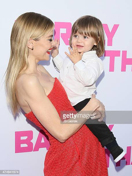 James Knight Newman and Jaime King attend the 'Barely Lethal' Los Angeles Special Screnning on May 27 2015 in Hollywood California