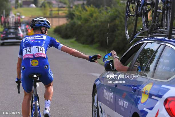 James Knox of United Kingdom and Team Deceuninck QuickStep / Sunglasses / Car Assistant / during the 76th Tour of Poland 2019 Stage 3 a 1505km stage...