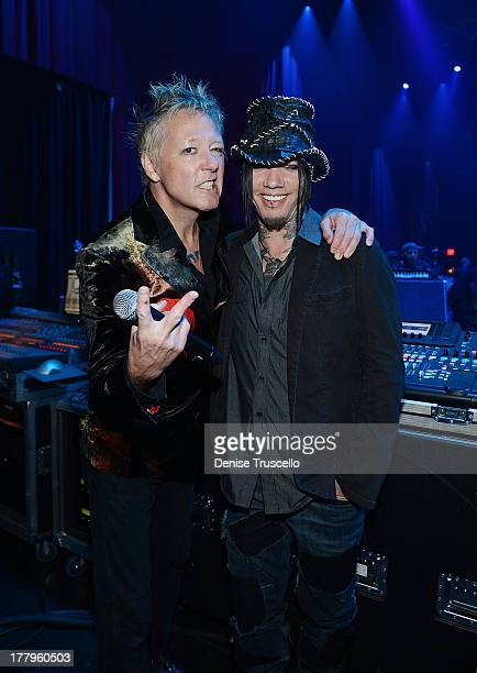 James Kottak and Dj Ashba during the fourth annual Vegas Rocks Magazine Music Awards 2013 at the Hard Rock Hotel and Casino on August 25 2013 in Las...