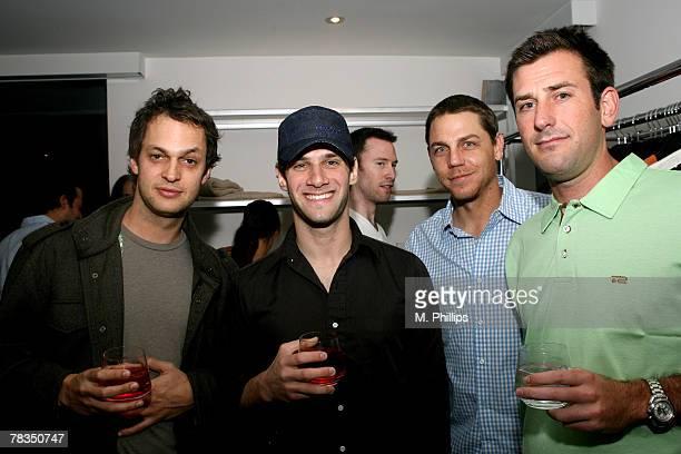 James Krisel, Justin Bartha, Palmer Brown and Chris Rosaasen