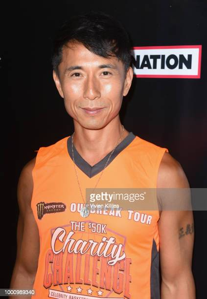 James Kyson attends 50K Charity Challenge Celebrity Basketball Game at UCLA's Pauley Pavilion on July 17 2018 in Westwood California