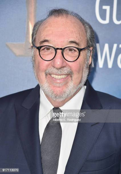 James L Brooks attends the 2018 Writers Guild Awards LA Ceremony at The Beverly Hilton Hotel on February 11 2018 in Beverly Hills California