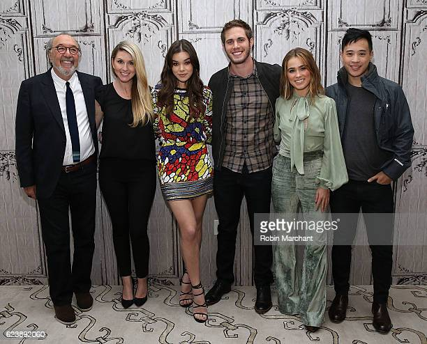 James L Brooks Kelly Fremond Craig Hailee Steinfeld Blake Jenner Haley Lu Richardson and Hayden Szeto attend The Build Series presents The Edge Of...