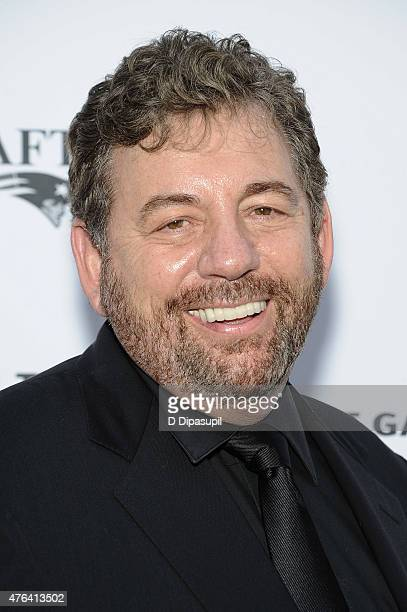 James L Dolan attends The Apollo Theater's 10th Annual Spring Gala at The Apollo Theater on June 8 2015 in New York City