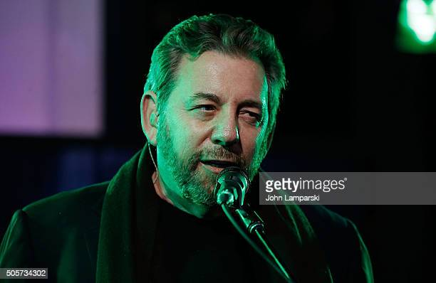 James L Dolan of JD The Straight Shot band attend AOL Build speaker series at AOL Studios In New York on January 19 2016 in New York City