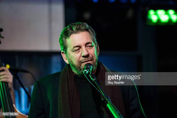 James L Dolan of JD The Straight Shot performss during a AOL Build Speaker Series at AOL Studios In New York on January 19 2016 in New York City