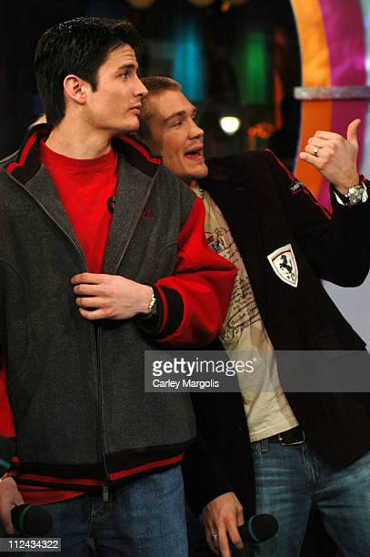 James Lafferty and Chad Michael Murray of 'One Tree Hill'