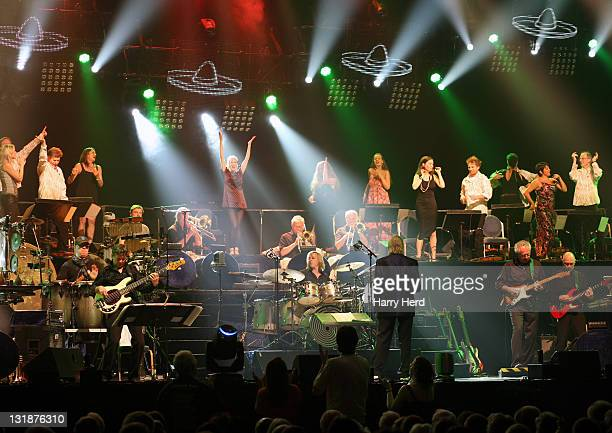 James Last and his Orchestra perform at BIC on April 10 2011 in Bournemouth England