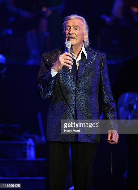 James Last performs at BIC on April 10 2011 in Bournemouth England