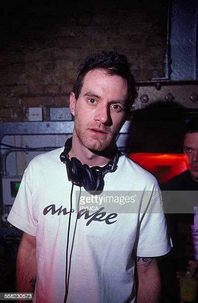 James Lavelle at World DJ Day Fabric London March 2002.