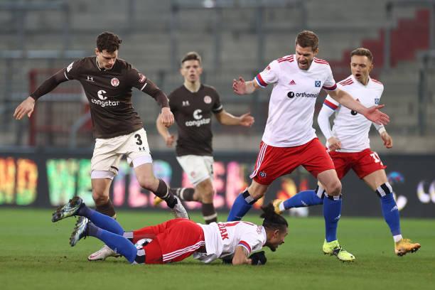 DEU: FC St. Pauli v Hamburger SV - Second Bundesliga