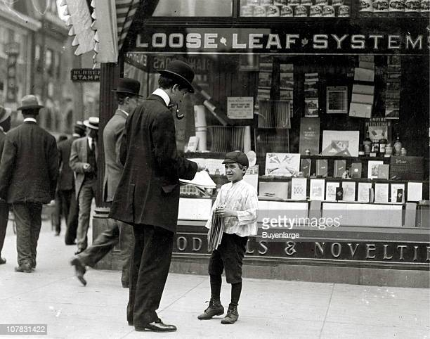 James Lequlla newsboy 12 years of age Selling newspapers 3 years Average earnings 50 cents per week Selling newspapers own choice Earnings not needed...