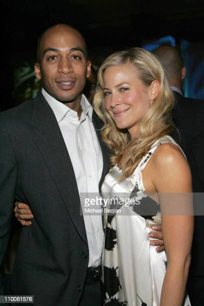 James LeSure and Brittany Daniel during The 11th Annual Multicultural PRISM Awards at Sheraton Universal in Los Angeles California United States