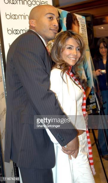 James Lesure and Vanessa Marcil during GQ NBC and Bloomingdales Night of Las Vegas Decadence in New York City at Bloomingdales in New York City NY...