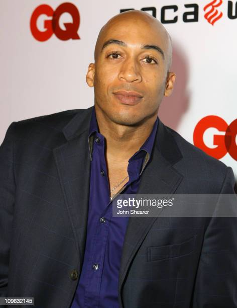 James Lesure during JayZ Album Release Party for Kingdom Come Hosted by GQ and Rocawear Red Carpet at Area in Hollywood California United States