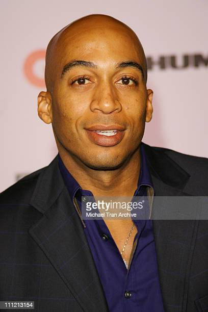 James Lesure during JayZ Celebrates Kingdom Come Album Release Party Arrivals at Area in West Hollywood California United States
