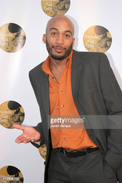 James Lesure during Molly Sims 4th Annual Night with the Friends of El Faro at The Music Box Henry Fonda Theatre in Hollywood California United States
