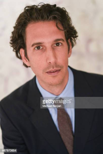 James Lieban poses for portrait at The Artists Project on April 12 2017 in Los Angeles California