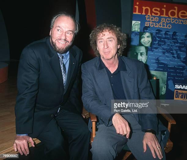 James Lipton and Gene Wilder