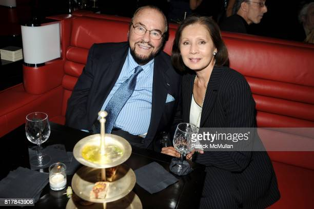James Lipton and Kedakai Turner Lipton attend THE CINEMA SOCIETY OC CONCEPT host the after party for RED at The Lambs Club at the Chatwal Hotel on...