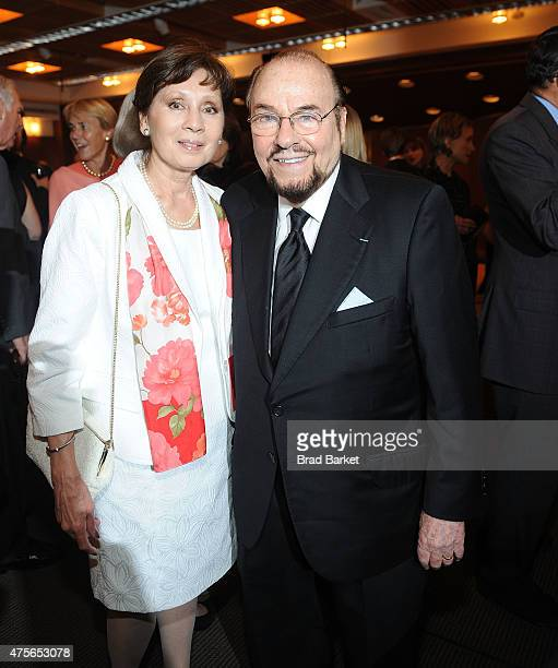 James Lipton and Kedakai Turner Lipton attend The School of American Ballet Presents The Workshop Performance Benefit 2015 at Peter Jay Sharp Theater...