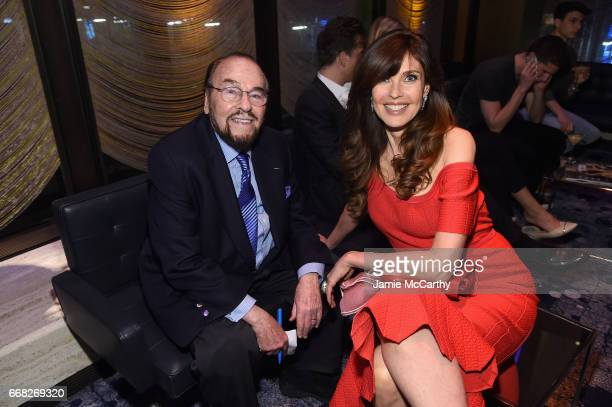 James Lipton and model Carol Alt attend The Hollywood Reporter 35 Most Powerful People In Media 2017 at The Pool on April 13 2017 in New York City