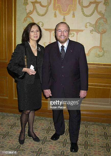 James Lipton and wife during The 56th Annual Writers Guild of America Awards, East - Arrivals at The Pierre Hotel in New York City, New York, United...