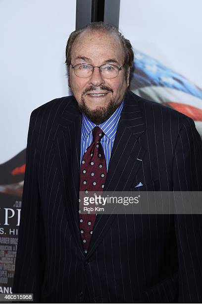 James Lipton arrives at the American Sniper New York Premiere at Frederick P Rose Hall Jazz at Lincoln Center on December 15 2014 in New York City