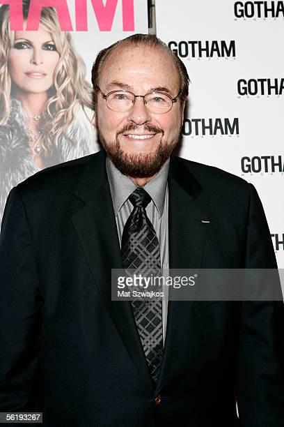 James Lipton arrives at the listening party for Shawn King's new CD 'In My Own Backyard' hosted by Gotham Magazine at Lotus on November 16 2005 in...
