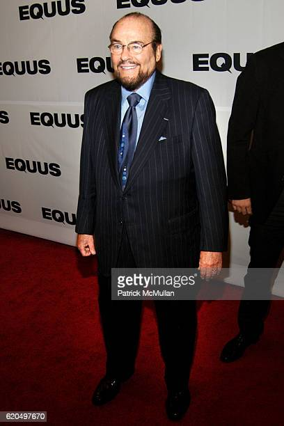 James Lipton attends EQUUS OPENING NIGHT ON BROADWAY at Broadhurst Theatre on September 25 2008 in New York City
